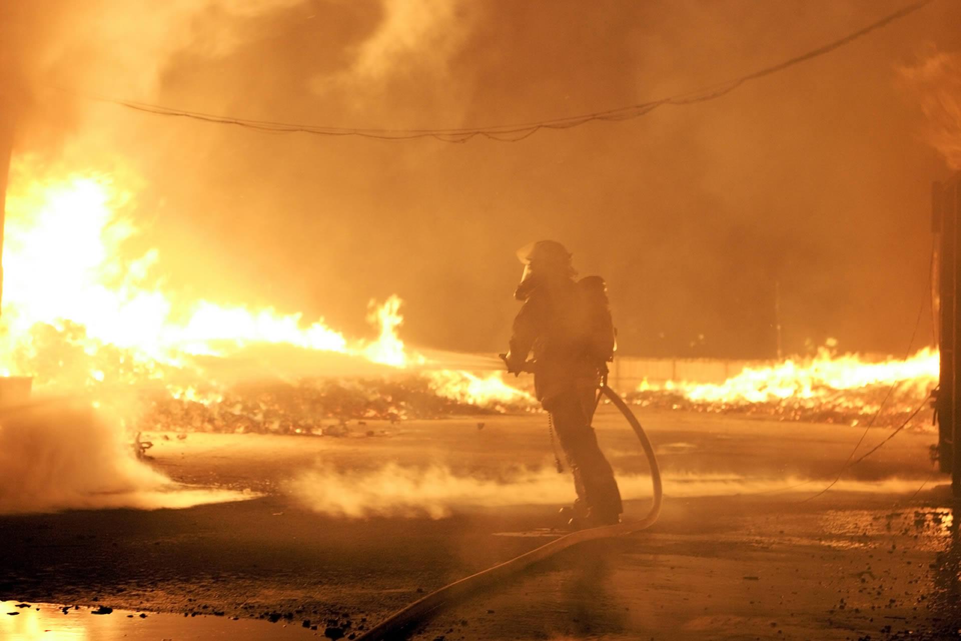 tűzvédelem, tűzvédelmi oltórendszer